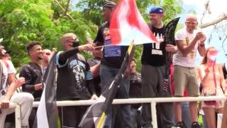 Bad Bunny, Ricky Martin, Residente y más artistas asisten a manifestación contra Roselló