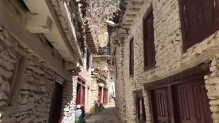 Walk through inside villages