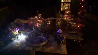 Mini Christmas Village.