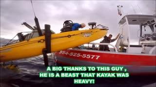 Kayak Kept from Sinking