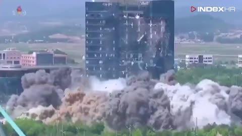 Sjeverna Koreja objavila svoju snimku uništenja međukorejskog ureda za vezu