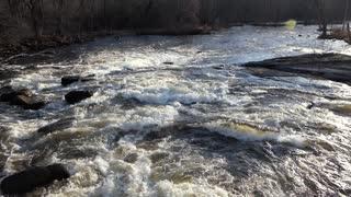 White Water Wolf River Keshena Indian Rez Downstream