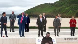 VIRAL - G7 Biden Trump meme