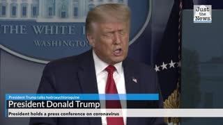 President Trump talks hydroxychloroquine