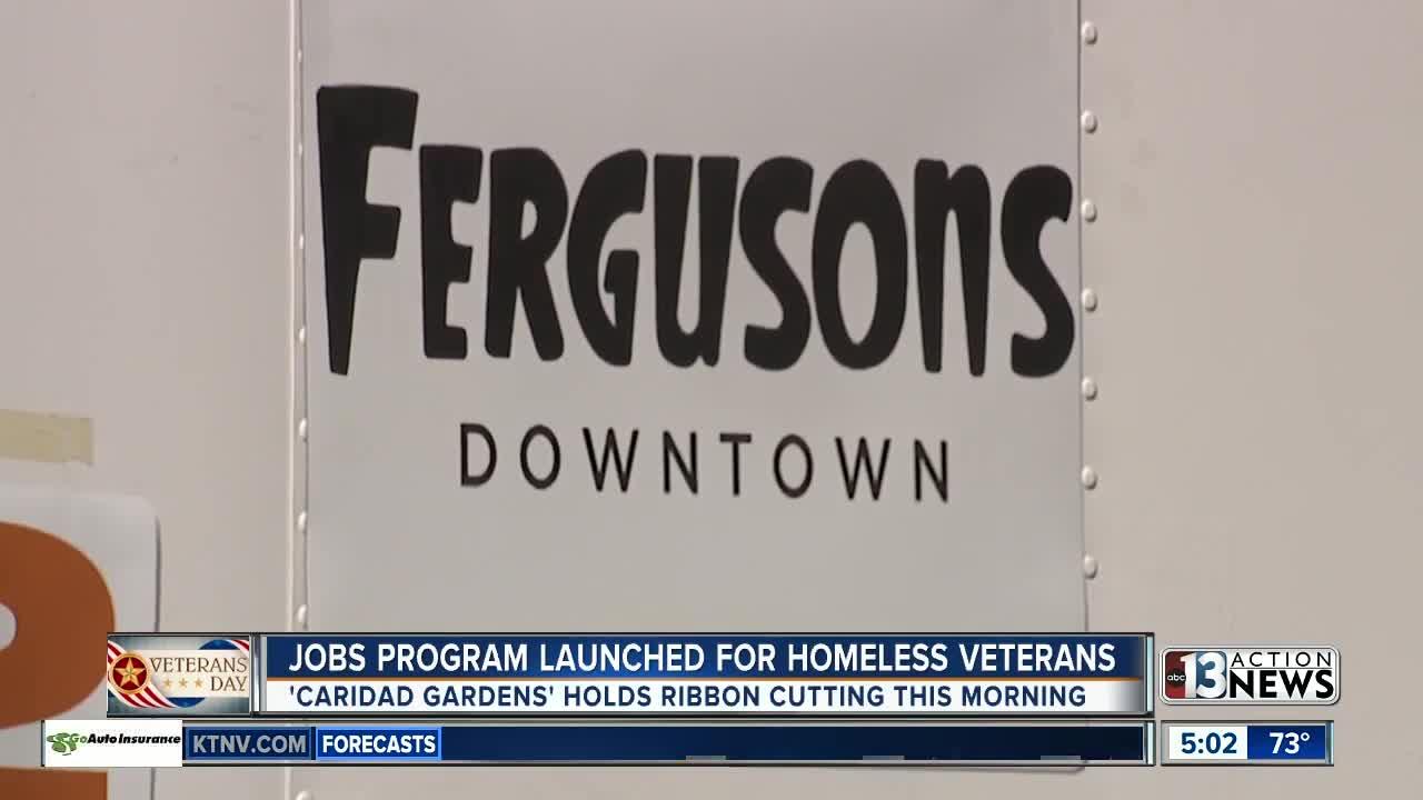 Jobs program launches for homeless veterans in Las Vegas valley