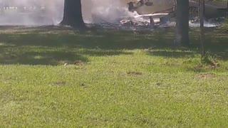 John Prince Park Plane Crash Aftermath