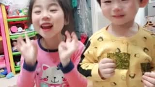 Dancing with my little sister
