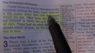 Bible study (John 2:13-25)