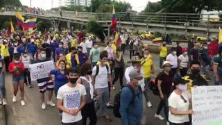 Avanza el Paro Nacional en Bucaramanga