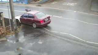 Drunk man Driving Car/ Car Crash