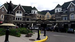 The Famous Fairmont Banff Springs Hotel