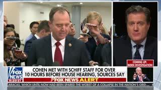 Mike Turner slams Schiff Cohen meeting