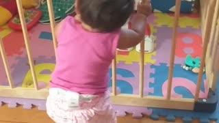 Dancing baby got the moves