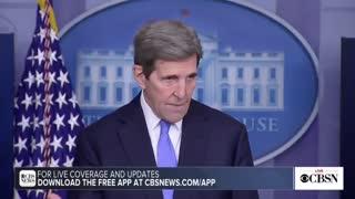 After Biden Kills Oil / Gas Jobs, Kerry Says It's not Biden's Fault