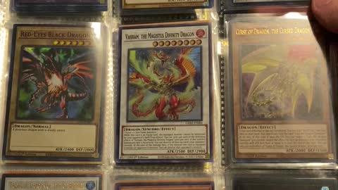 Yugioh Dragon cards!