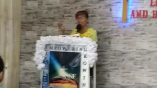 Missionary Pastor Luz Williams - Protected, hid, in Christ