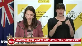 """New Zealand Prime Minister Jacinda Ardern: """"Don't talk to your neighbours."""""""