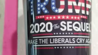 Trump 2020 liberal tears tumbler