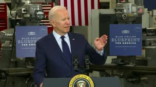 Biden's Brain Freezes AGAIN When Giving Speech About State of Economy