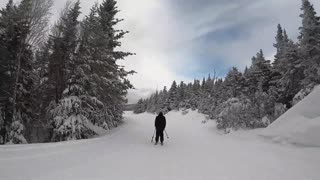 It feels good to be a skier