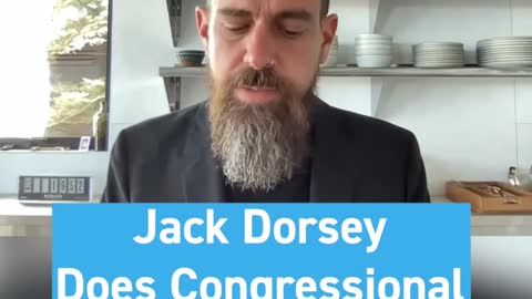 Jack Dorsey is Doing the Congressional Hearing From His Kitchen... 🍲 - WTA #Shorts