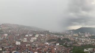 Fuerte tormenta se registra este miércoles en Bucaramanga