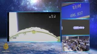China Rocket Back To Earth