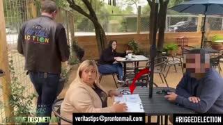 James O'Keeffe slamming Voter fraudster