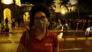 Finaliza la marcha del #21S en Cartagena