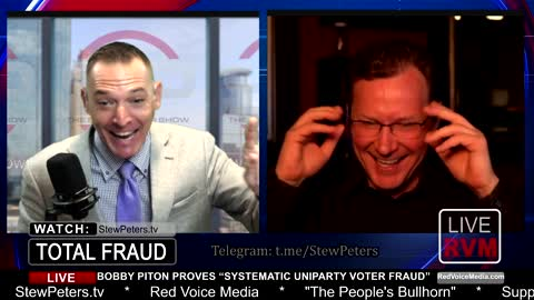"""RECEIPTS! Bobby Piton Exposes Stolen Election in 20 Minutes! """"Systematic Voter Fraud"""""""