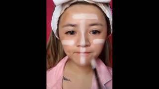 top 10 asian viral video makeup transformation 3