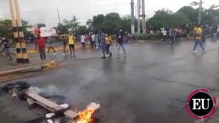 Tarde de vandalismo en Cartagena
