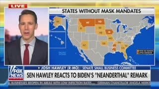 Josh Hawley on mask repeals