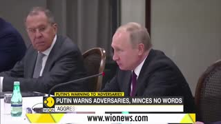 Russian President Putin warns to ... Knock out teeth,of Adversarirs Latest world.