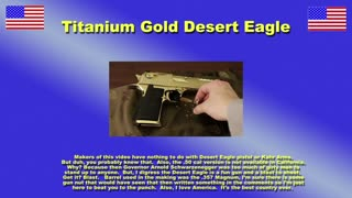 Desert Eagle Commercial Titanium Gold