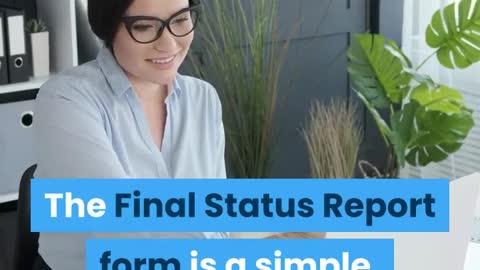 FINAL STATUS REPORT