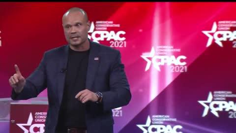 Dan Bongino at CPAC 2021