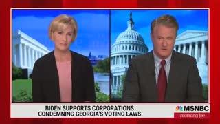 MSNBC Admits Biden's Logic On Georgia Boycott Is A Disaster