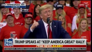 President Donald Trump mocks Page and Strzok