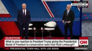Biden slams Rush Limbaugh
