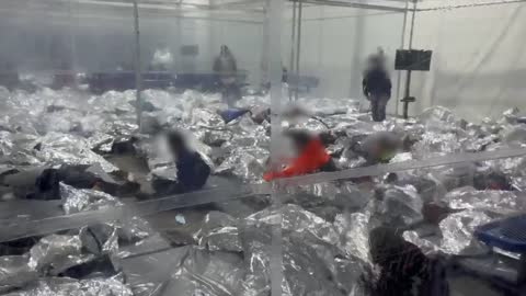 Outrageous New Video Shows Illegals Packed Together, Sleeping on Floors at Donna Facility