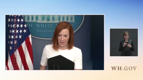 """Psaki BOMBS When Asked About """"Kids in Cages"""" Hypocrisy"""
