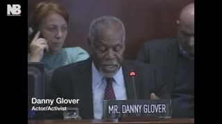 Danny Glover calls for reparations