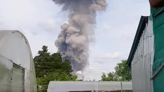 Moments After Dzerzhinsk Explosion