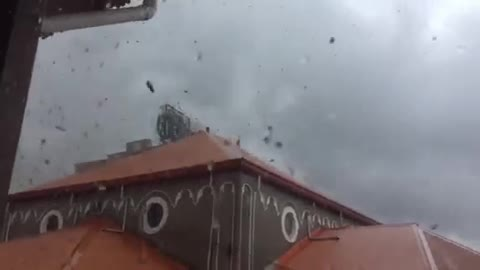 Terrifying Footage Of A Ravaging Tornado In The Philippines