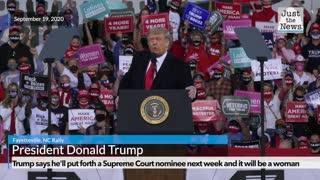 President Trump on SCOTUS nominee