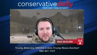 Trump Attorney DESTROYS Anti-Trump News Anchor!