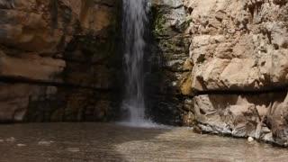 David waterfall Ein Gedi Israel, Views of the Holy Land
