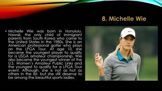 Most beautiful sports women's in world