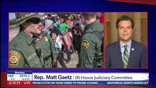 Chris Salcedo and Rep. Matt Gaetz Discuss The Border Crisis